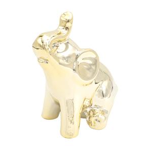 Enfeite-Decorativo-em-Resina-Elefante-Medio-dourado