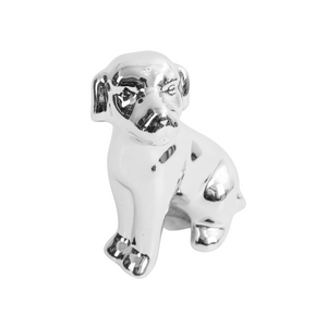 Enfeite-Decorativo-Cachorro-prateado