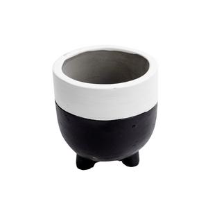 Vaso-Decorativo-Pequeno-de-Cimento-Bicolor-modelo-1
