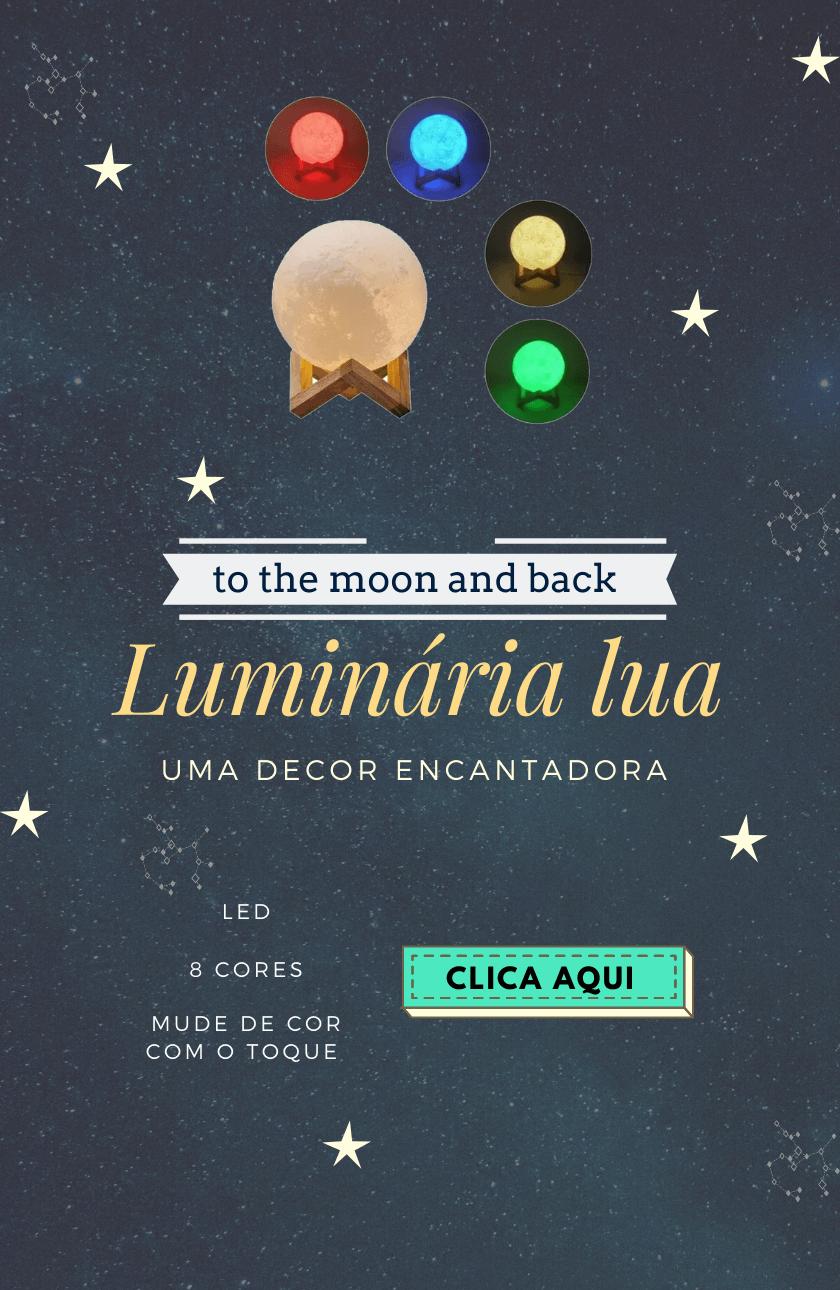 Luminaria Lua Fashion Biju